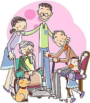 家族の絆の素晴らしさと病気克服への有用さを実感することがよくあります