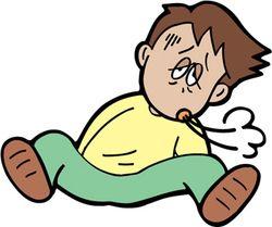 安静時に息切れがおこるようになるとかなり重症であることが多いです。ご注意を