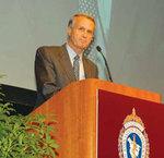 D Craig Miller先生。アメリカ胸部外科学会にて。