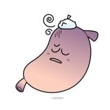 癌に侵された胃です。