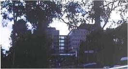 メルボルン大学オースチン病院(当時)。アメリカやカナダの病院よりは小ぶりでしたが、そのシステムの良さ、高機能さには目を見張るものがありました。