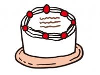 全さんが作って下さったケーキはいつもおいしいです