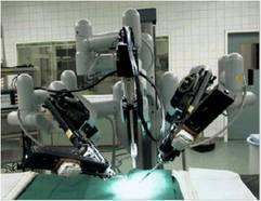 手術用ロボット・ダビンチ。世界的には撤退する病院が多く、壁に当たった状態です。今後の改良やコストダウンなどが必要です。