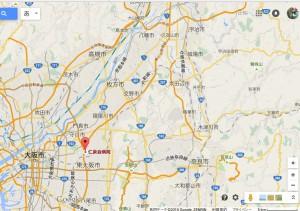 仁泉会病院広域地図